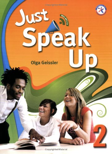 9781599664170: Just Speak Up 2, w/Transcripts & Answer Key, and Audio CD (intermediate-level speaking skills related to personal experience)