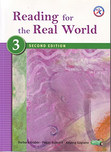 9781599664224: Reading for the Real World 3, Second Edition (Advanced Current Interest w/MP3 Audio CD)