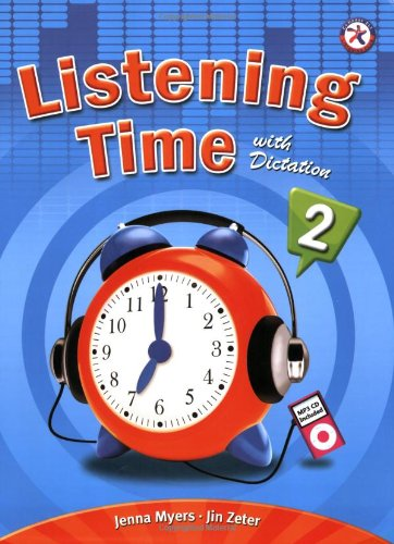 Listening Time with Dictation 2, w/Audio CD,: Jenna Myers; Jin