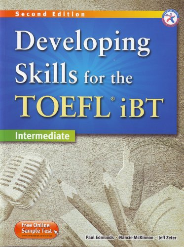 Developing Skills for the TOEFL iBT, 2nd Edition Intermediate Combined MP3 Audio CD: Paul Edmunds/ ...