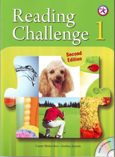 9781599665290: Reading Challenge 1, 2nd Edition w/Audio CD (wide range of interesting and accessible non-fiction content for upper-intermediate level learners)
