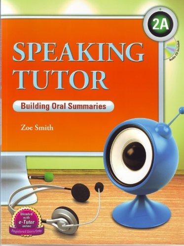 9781599665450: Speaking Tutor 2A, Interactive Roleplays w/Audio CD (Intermediate Level)