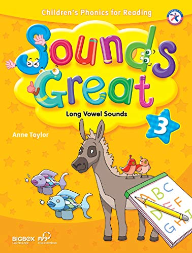 Sounds Great 3, Children's Phonics for Reading - Long Vowel Sounds (with 2 Hybrid CDs): Anne ...