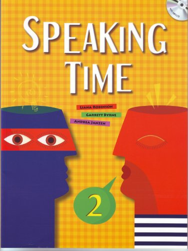 9781599666198: Speaking Time 2, w/MP3 Audio CD (Elementary Level; improve oral skills through extensive, meaningful practice)