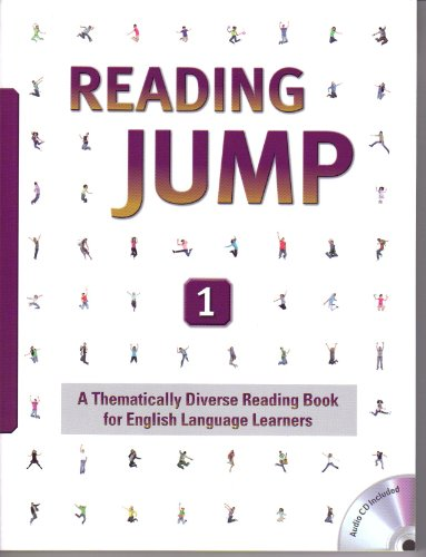 9781599666266: Reading Jump 1, A Thematically Diverse Reading Book for English Language Learners (intermediate-level series with workbook and audio CD)