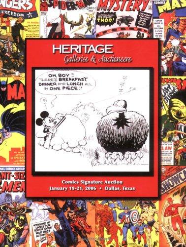 9781599670218: Heritage Comics Signature Auction #819