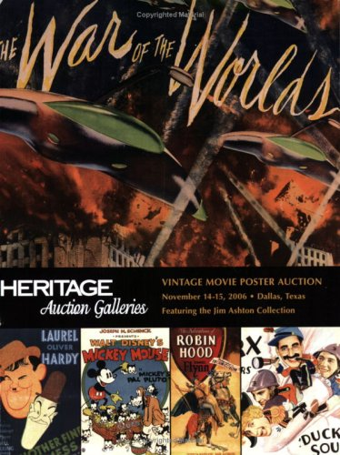 9781599670928: Heritage Auction Galleries: Vintage Movie Poster Auction - November, 2006
