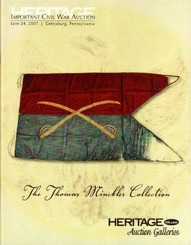 Heritage Auction Civil War #663 Custer Battle Flag supplemental catalog