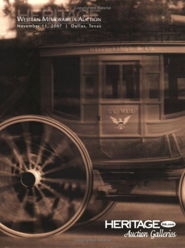 Heritage Western Memorabilia Auction Catalog #680