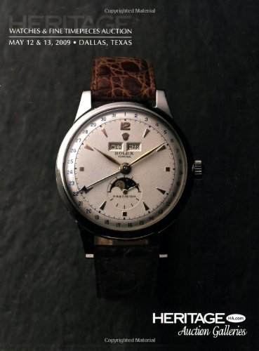 9781599673547: Heritage Watches & Fine Timepieces Auction #5023