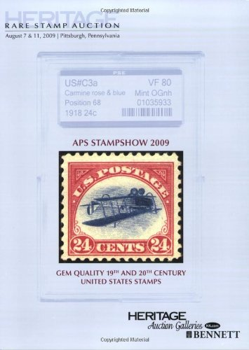 Heritage Rare Stamp Auction #1107: Heritage Auctions; Inc.; Editor James L. Halperin