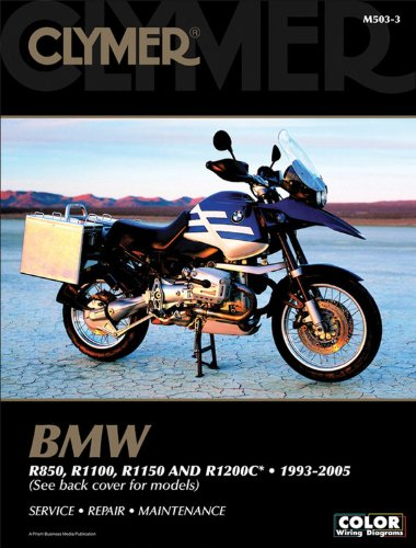 9781599690407: Clymer BMW R850, R1100, R1150 and R1200c, 1993-2005 (CLYMER MOTORCYCLE REPAIR)