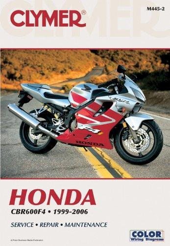 9781599690827: Honda CBR600F4 1999-2006 (CLYMER MOTORCYCLE REPAIR)