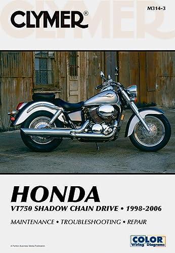 9781599690834: Honda VT750 Shadow Chain Drive 1998-2006 (Clymer Manuals: Motorcycle Repair)