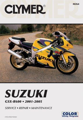 9781599691169: Suzuki GSX-R600 2001-2005: Service - Repair - Maintenance (Clymer Motorcycle Repair)