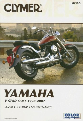 9781599691473: Clymer Yamaha V-Star 650, 1998-2007 (Clymer Motorcycle Repair)