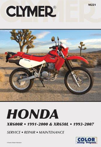 9781599691572: Clymer Honda XR600R 1991-2000 & XR650L 1993-2007 (Clymer Motorcycle Repair)