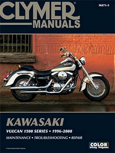 9781599691701: Kawasaki Vulcan 1500 Series 96-08 (CLYMER MOTORCYCLE REPAIR)