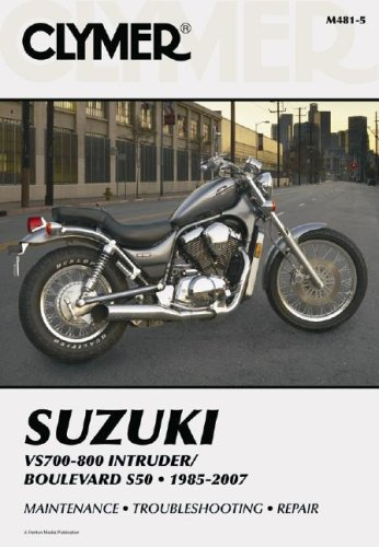 9781599691756: Suzuki VS700-800 Intruder/Boulevard S50, 1985-2007 (CLYMER MOTORCYCLE REPAIR)