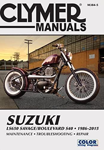 9781599691879: Suzuki LS650 Savage/Boulevard S40, 1986-2007 (Clymer Motorcycle Repair) (Clymer Marine Repair Series)
