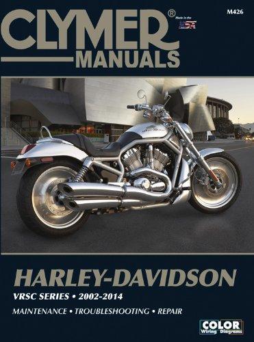 9781599691893: Harley Davidson VRSC Series 2002 2007 (Clymer Color Wiring Diagrams)