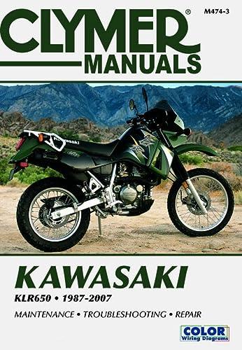 9781599692258: Kawasaki KLR650 1987-2007 (Clymer Color Wiring Diagrams)