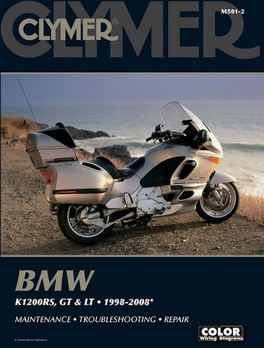 9781599692340: BMW K1200RS, GT and LT: 1998-2008 (Clymer Color Wiring Diagrams)