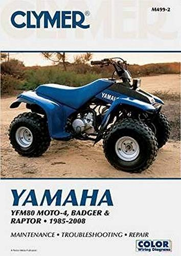 Yamaha YFM80 MOTO-4, Badger & Raptor 2001-2008 (Clymer Color Wiring Diagrams): Penton Staff