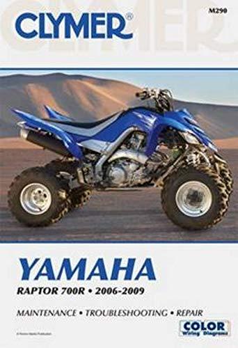 Yamaha Raptor 700R 2006-2009 (Clymer Motorcycle Repair): Penton Staff