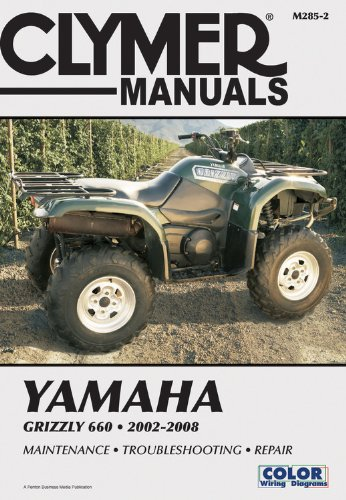 9781599693057: Clymer Yamaha Grizzly 660 2002-2008
