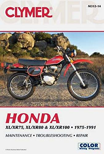 9781599693156: Honda XL/XR75, XL/XR80 & XL/XR100 1975-1991 (Clymer Motorcycle Repair)
