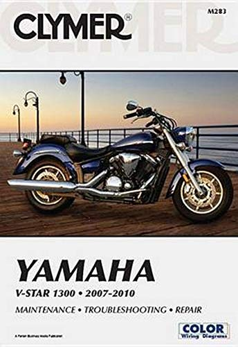 Clymer Yamaha V-Star 1300, 2007-2010 (Paperback): Clymer Staff