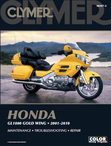Honda 1800 Gold Wing 2001-2010 (Clymer Color Wiring Diagrams): Penton Staff