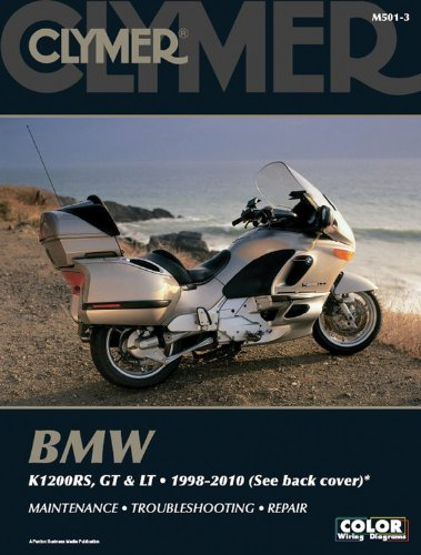 9781599694122: BMW K1200RS, LT AND GT 1998-2010 (Clymer Motorcycle Repair)