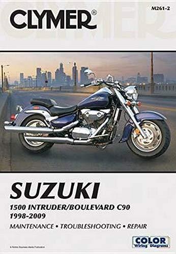 Clymer Suzuki 1500 Intruder/Boulevard C90, 1998-2009 (Paperback): Clymer Staff