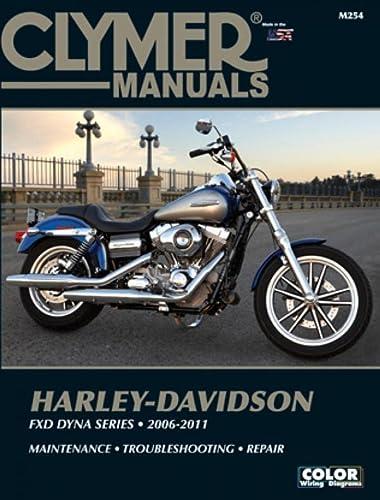 Clymer Harley-Davidson FXD Dyna Series 2006-2011 [With CDROM] (Paperback): Ed Scott