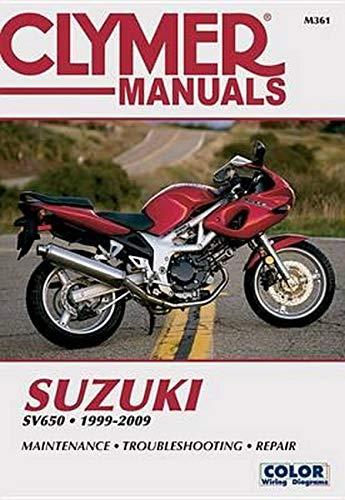 Suzuki Sv650, 1999-2009: Maintenance, Troubleshooting, Repair (Paperback): Editors Of Haynes ...