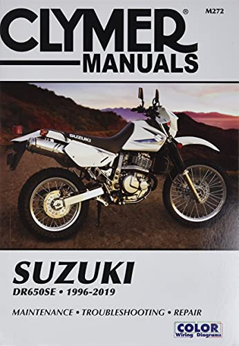 Suzuki DR650SE 1996-2013 (Clymer Manuals: Motorcycle Repair): Penton Staff