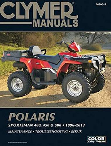 9781599696393: Polaris Sportsman 400, 450 & 500 1996-2013 Manual (Clymer Manuals: Motorcycle Repair)