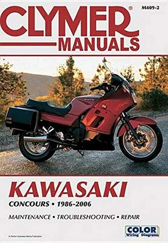 Kawasaki ZG1000 Concours 1986-2006 (Clymer Manuals: Motorcycle Repair): Penton Staff