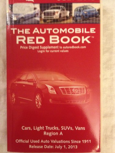 The Automobile Red Book July 2013 Cars,: Price Digest