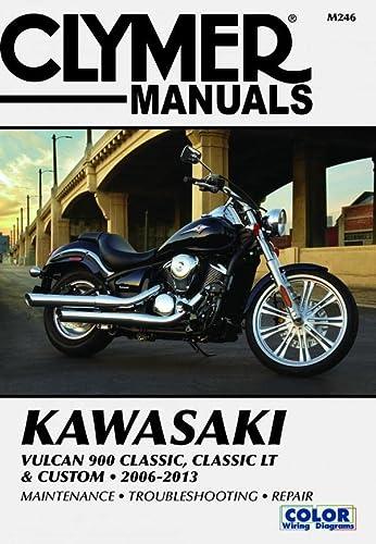 Clymer Manuals: Kawasaki Vulcan 900 Classic, Classic LT & Custom, 2006-2013 (Paperback): Clymer...