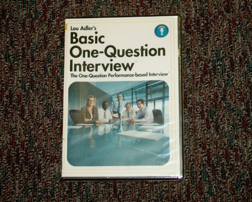 9781599711874: Basic One-question Interview (The One-Question performance-based Interview)