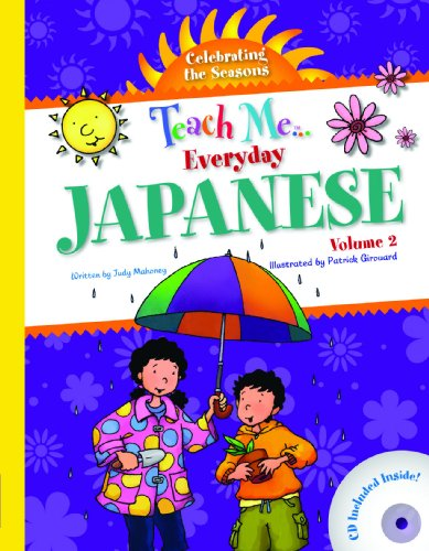 9781599722047: Teach Me Everyday Japanese: Celebrating the Seasons (Japanese and English Edition)