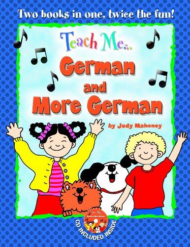 9781599726038: Teach Me German & More German, Bind Up Edition (German and English Edition)