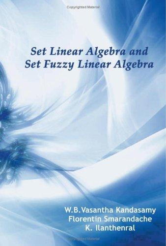 Set Linear Algebra and Set Fuzzy Linear: W. B. Vasantha