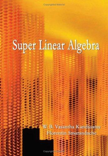Super Linear Algebra: Florentin Smarandache, W.