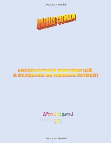 9781599732374: Enciclopedia Matematica a Claselor de Numere Intregi (Italian Edition)