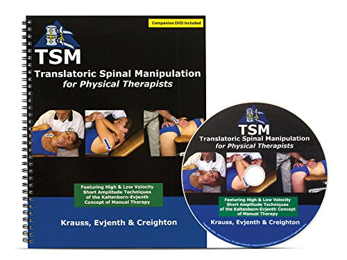 Translatoric Spinal Manipulation for Physical Therapists (928PKG): Krauss, Evjenth, Creighton