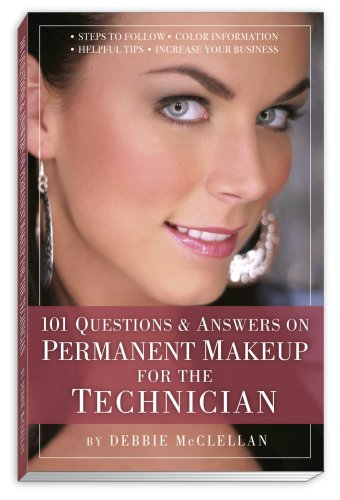 9781599753119: 101 SPANISH Questions & Answers on Permanent Makeup for the Technician